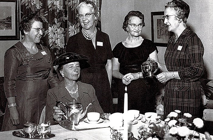 1951: The first Ladies Auxiliary was formed to support Oliver Lodge.
