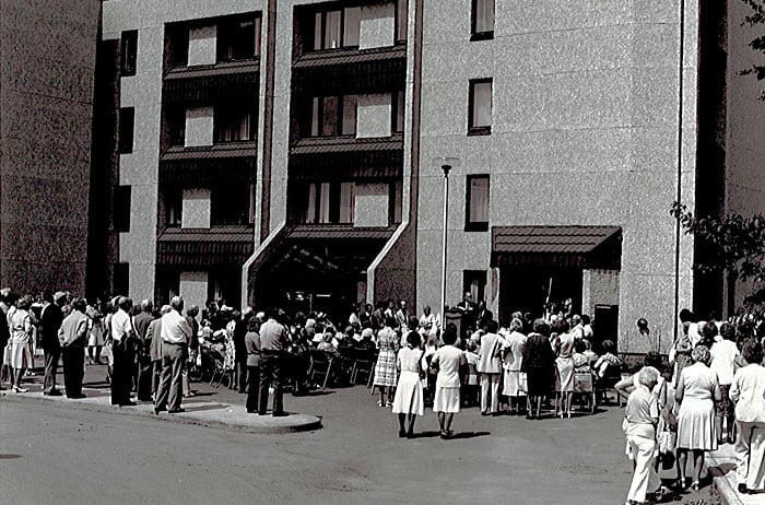 1981: Oliver Place was opened.